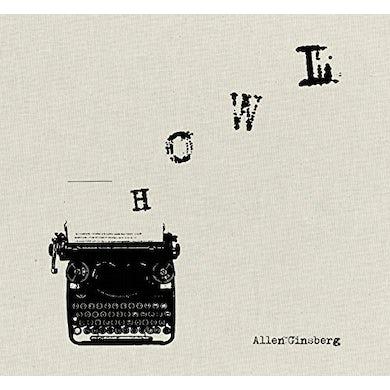 Allen Ginsberg READS HOWL & OTHER POEMS Vinyl Record