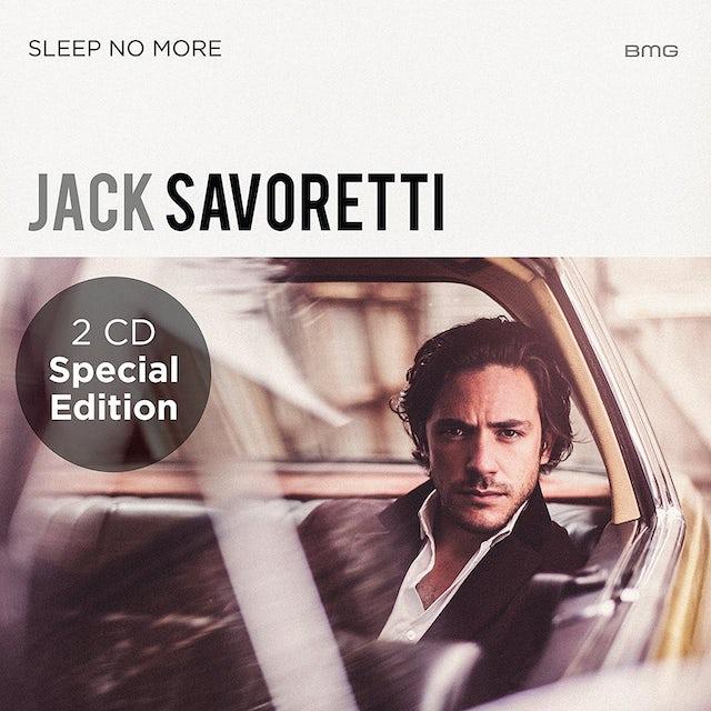 Jack Savoretti SLEEP NO MORE / LIVE & ACOUSTIC CD