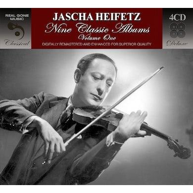 Jascha Heifetz 9 CLASSIC ALBUMS VOLUME 1 CD