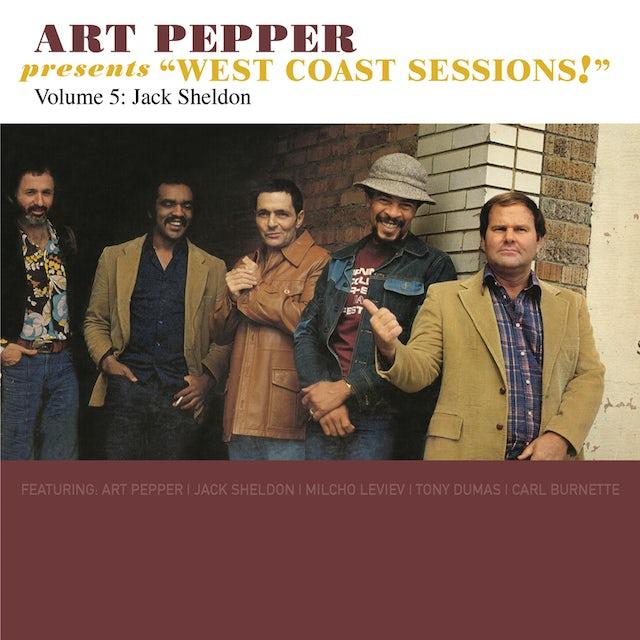 Art Pepper PRESENTS WEST COAST SESSIONS 5: JACK CD