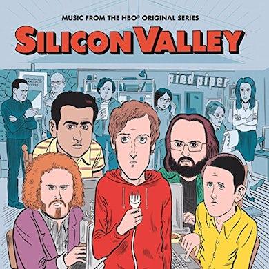 Silicon Valley: The Soundtrack / Various SILICON VALLEY: THE SOUNDTRACK Limited Edition Red Colored Vinyl Record