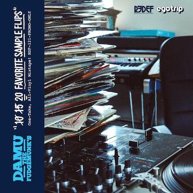 DAMU THE FUDGEMUNK'S 20 FAVORITE SAMPLE FLIPS Vinyl Record