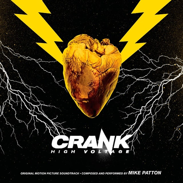Mike Patton CRANK HIGH VOLTAGE / Original Soundtrack Vinyl Record