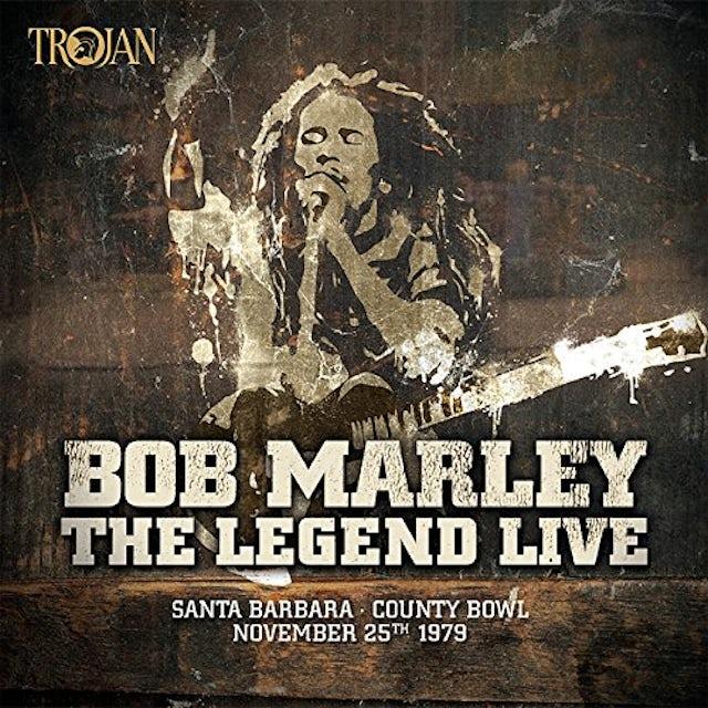 Bob Marley LEGEND LIVE IN SANTA BARBARA Vinyl Record