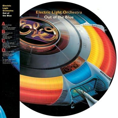 ELO (Electric Light Orchestra) OUT OF THE BLUE Vinyl Record