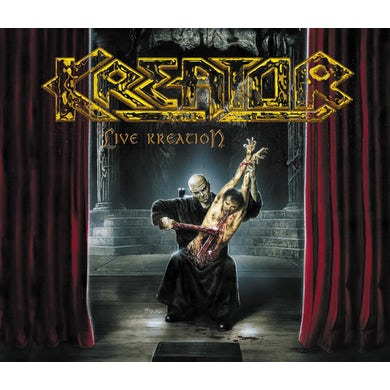 Kreator LIVE KREATION Vinyl Record
