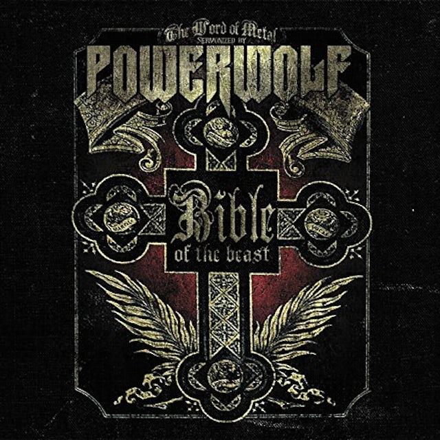 Powerwolf BIBLE OF THE BEAST Vinyl Record