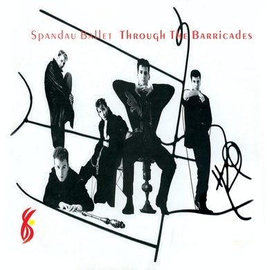 Spandau Ballet THROUGH THE BARRICADES Vinyl Record