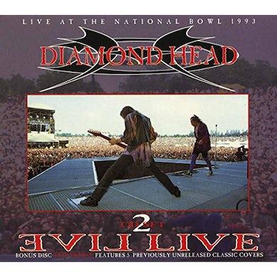 Diamond Head EVIL LIVE CD