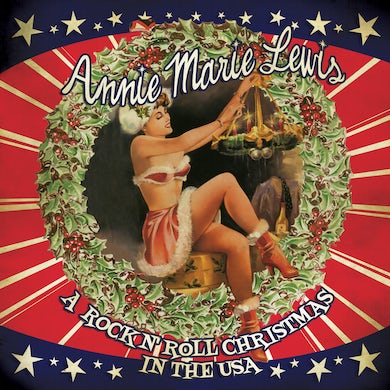 Annie Marie Lewis A ROCK N' ROLL CHRISTMAS IN THE USA CD