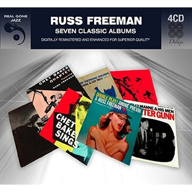 Russ Freeman 7 CLASSIC ALBUMS CD