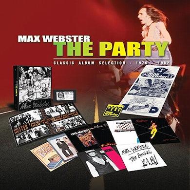 Max Webster PARTY Vinyl Record Box Set
