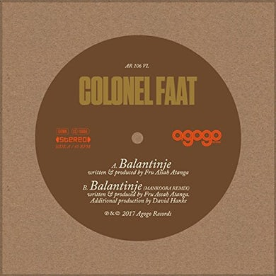 Colonel Faat BALANTINJE Vinyl Record