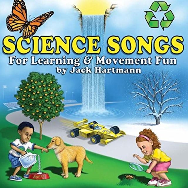 Jack Hartmann SCIENCE SONGS CD