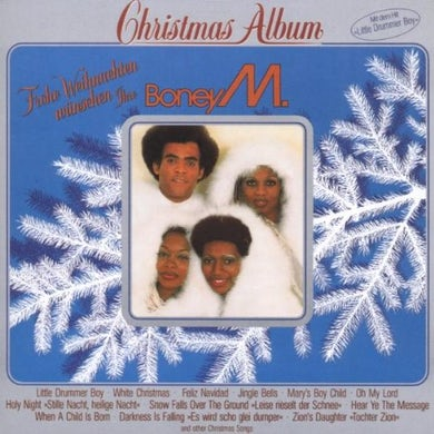 Boney M CHRISTMAS ALBUM (1981) Vinyl Record