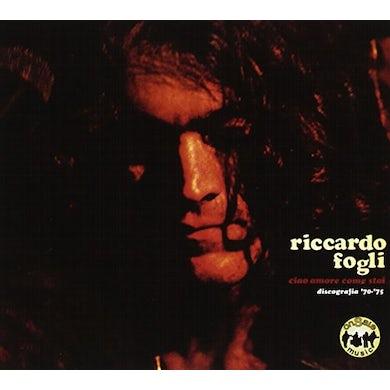 Riccardo Fogli CIAO AMORE COME STAI DISCOGRAFIA 70-75 CD