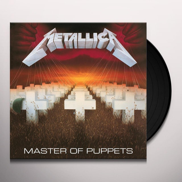 Metallica MASTER OF PUPPETS - Digitally Remastered Edition Vinyl Record