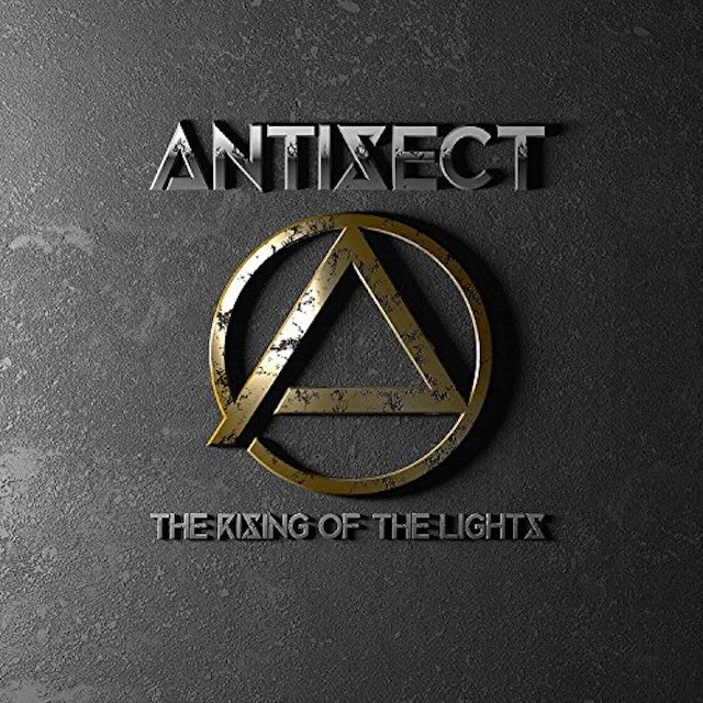 Antisect RISING OF THE LIGHTS CD