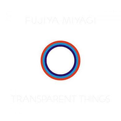 Fujiya & Miyagi TRANSPARENT THINGS CD