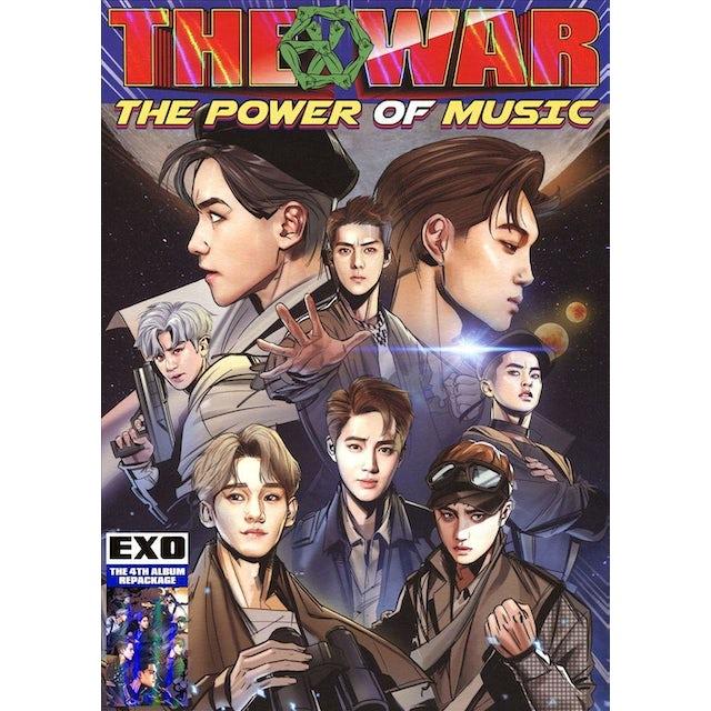 EXO WAR: THE POWER OF MUSIC (KOREAN VERSION) CD