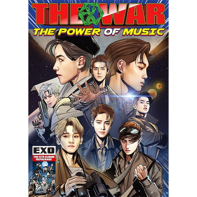 EXO WAR: THE POWER OF MUSIC (CHINESE VERSION) CD