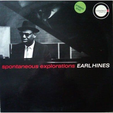 Earl Hines SPONTANEOUS EXPLORATIONS CD