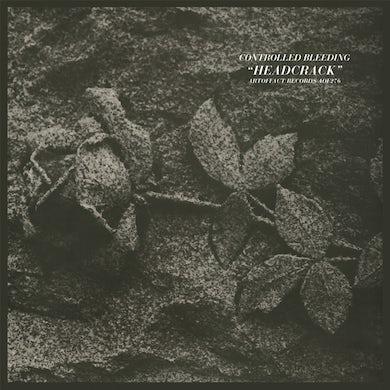 Controlled Bleeding HEADCRACK (BLUE VINYL) Vinyl Record