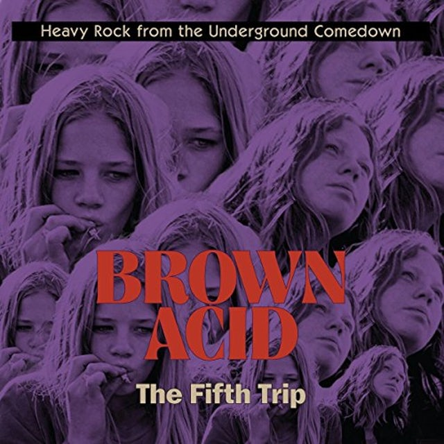 Brown Acid - The Fifth Trip / Various CD