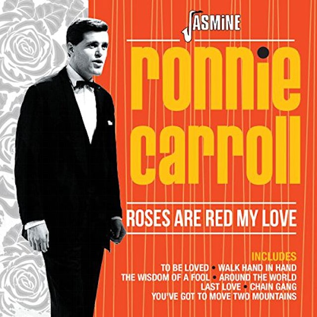 Ronnie Carroll ROSES ARE RED MY LOVE CD