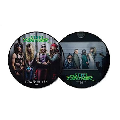 Steel Panther LOWER THE BAR (BITCHIN' EDITION PICTURE DISC) Vinyl Record