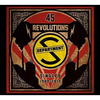 Department S 45 REVOLUTIONS: SINGLES 1980-2017 CD