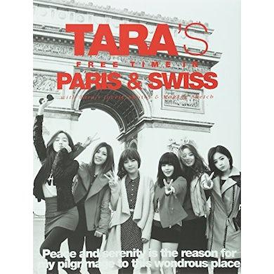 T-ARA'S FREE TIME IN PARIS & SWISS (SPECIAL ALBUM) CD