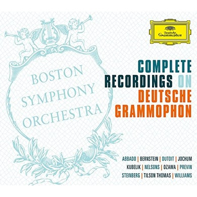 Boston Symphony Orchestra COMPLETE RECORDINGS ON DEUTSCHE GRAMMOPHON CD