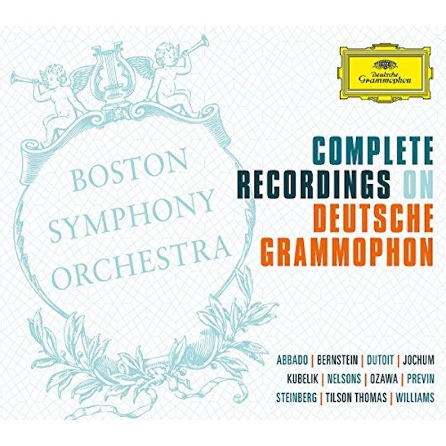 Boston Symphony Orchestra COMPLETE RECORDINGS ON DEUTSCHE GRAMMOPHON CD