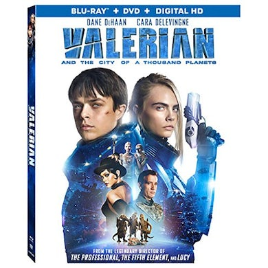 VALERIAN & THE CITY OF A THOUSAND PLANETS Blu-ray