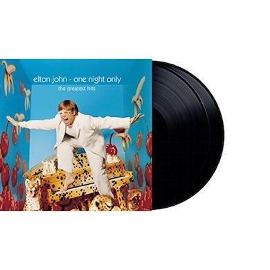Elton John ONE NIGHT ONLY - THE GREATEST HITS Vinyl Record
