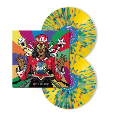 Bootsy Collins WORLD WIDE FUNK Vinyl Record