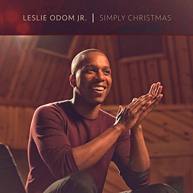 Leslie Odom Jr SIMPLY CHRISTMAS (DELUXE) CD