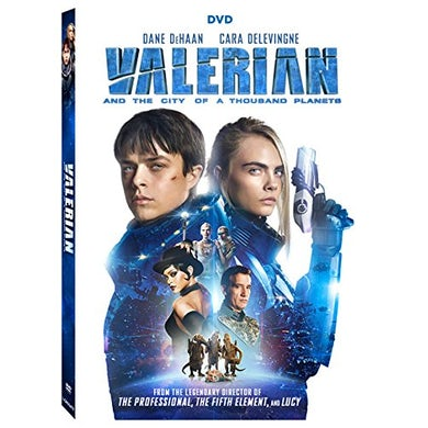 VALERIAN & THE CITY OF A THOUSAND PLANETS DVD
