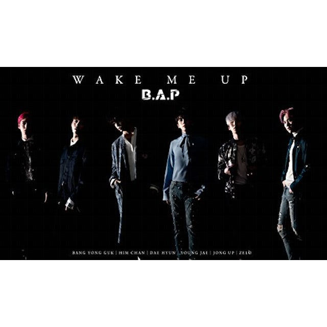 B.A.P WAKE ME UP: LIMITED CD