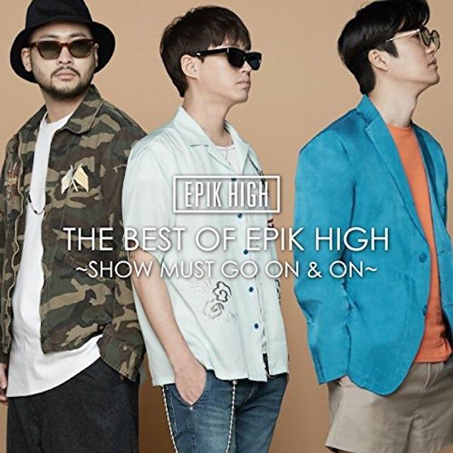 Epik High BEST OF: SHOW MUST GO & ON CD
