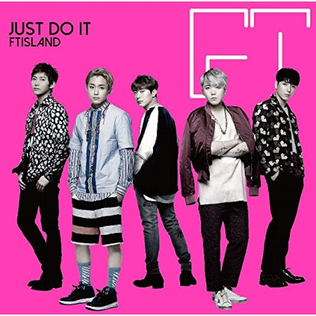FTISLAND JUST DO IT: TYPE-A CD