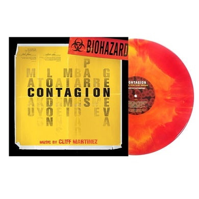 Cliff Martinez CONTAGION / Original Soundtrack Vinyl Record
