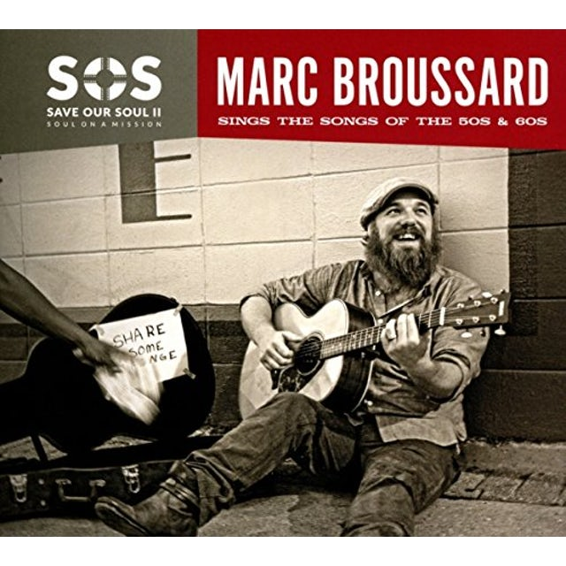 Marc Broussard S.O.S. II (SAVE OUR SOUL: SOUL ON A MISSION) CD