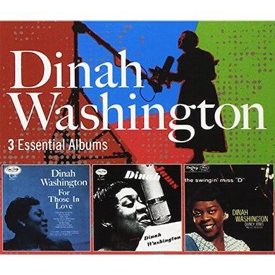 Dinah Washington 3 ESSENTIAL ALBUMS CD