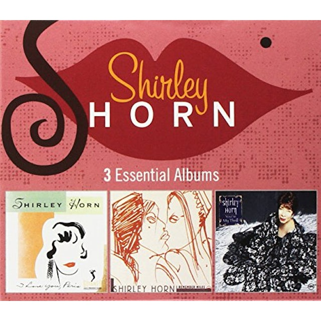 Shirley Horn 3 ESSENTIAL ALBUMS CD