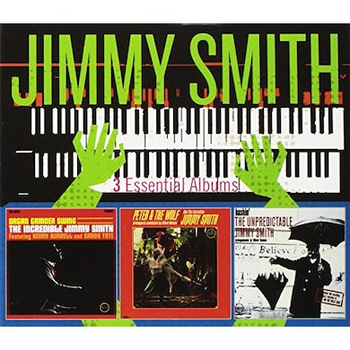 Jimmy Smith 3 ESSENTIAL ALBUMS CD
