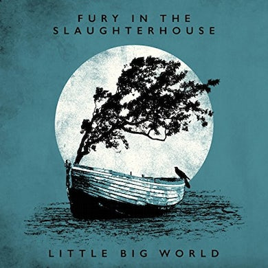 Fury In The Slaughterhouse LITTLE BIG WORLD: LIVE & ACOUSTIC Vinyl Record