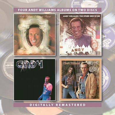 Andy Williams CHRISTMAS PRESENT / OTHER SIDE OF ME / ANDY CD