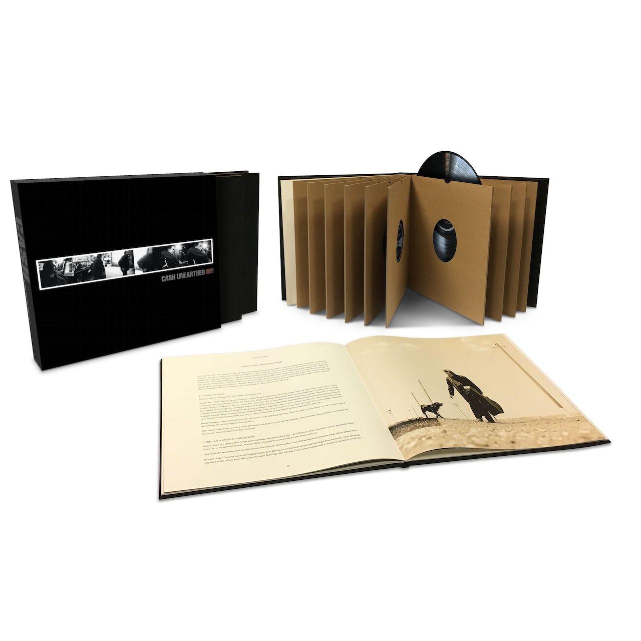 Johnny Cash Quot Unearthed Quot Limited Edition Nine Lp Box Set